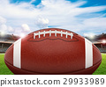 football on field 29933989