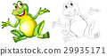 character, frog, toad 29935171