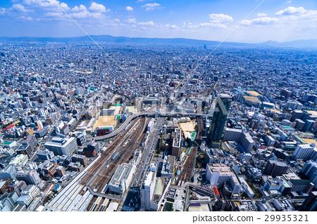 오사카 도시 풍경 29935321
