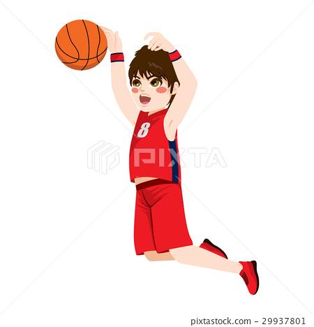 Basketball Action Boy 29937801