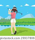 Golf Woman 29937806