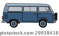 交通 多功能旅行车 蓝色 29938416