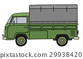 truck, transportation, green 29938420