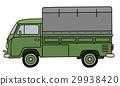 truck transportation green 29938420