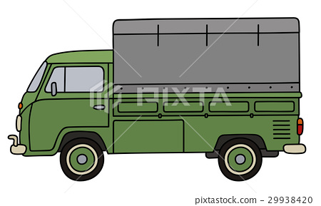Green small truck 29938420