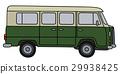 多功能旅行车 绿色 旧 29938425