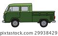 多功能旅行车 绿色 交通 29938429