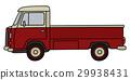 truck, small, retro 29938431