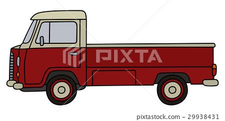 Retro small truck 29938431