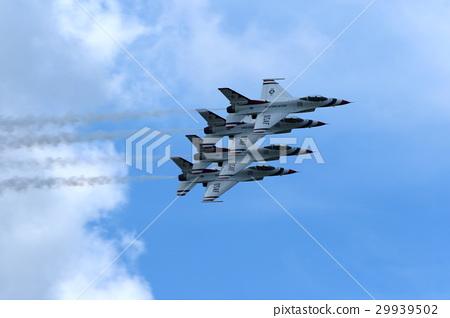 Air Show Acrobat Flying Dayton Air Show 29939502