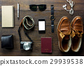 Top view accessories  travel. 29939538