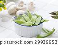 봄 야채, 봄 채소, 완두콩 29939953