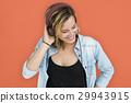 Caucasian Lady Embarassed Studio Concept 29943915