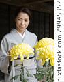 기모노의 미들 여성 29945352