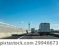 메이 신 고속도로를 주행중 인 트럭 29946673