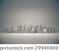 Abstract city for background,dark city,night city. 29946900