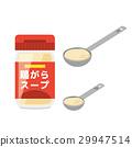 닭 껍질 스프 【재료 시리즈] 29947514