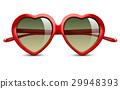 Sunglasses in shape of heart 29948393