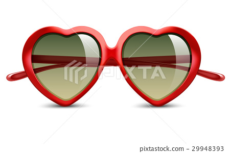 Sunglasses in shape of heart 29948393