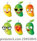 mango, face,emojis,emotion, hello summer 29950845