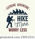 mountain, logo, vector 29953541