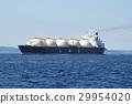LNG油輪航行東京灣 29954020