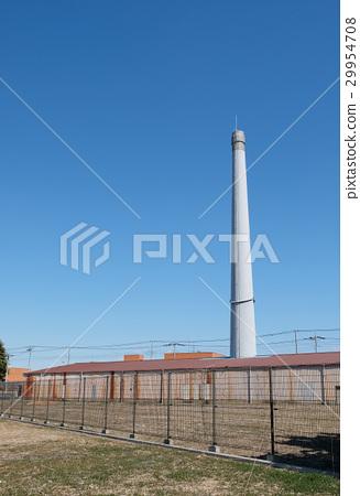 [중요 문화재] 구 벽돌 제조 시설 호프만 식 고리 가마 6 호 가마 29954708