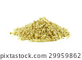 Millet on white background. 29959862