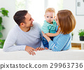 Happy family  at home 29963736
