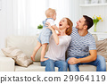 Happy family  at home 29964119
