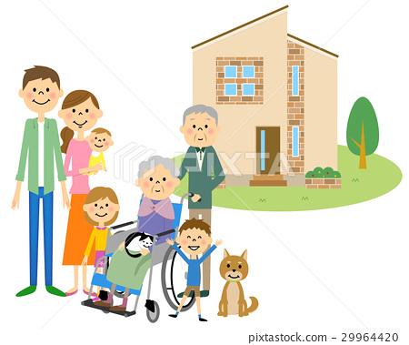 我的家庭和三代家庭 29964420