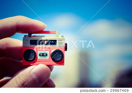 收放機 微型 無線電 29967409