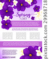 spring,flower,poster 29968718