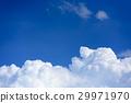 뭉게 구름 (여름 이미지) 29971970