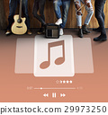 Music Player Play Song Concept 29973250
