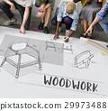 armchair, draft, furniture 29973488