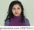 Lady Posing Studio Neutral Focused 29975011