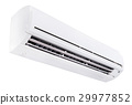 Split air conditioner isolated on white background 29977852