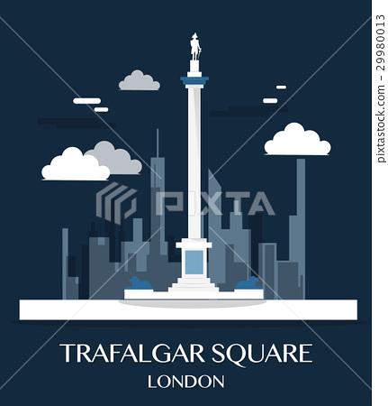 Famous London Landmark Trafalgar Square  29980013