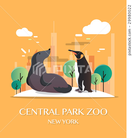 New york landmark Central Park Zoo 29980022