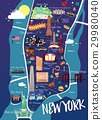 new, york, map 29980040