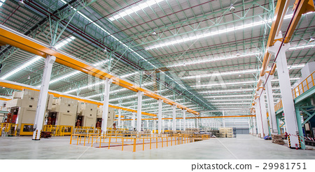 Interior of production factory 29981751