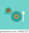icon coffee donut 29982327