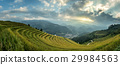 Rice fields on terraced of Mu Cang Chai 29984563