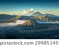Bromo volcano at sunrise 29985140