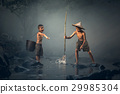 Boys fishing 29985304