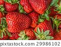 Strawberries background 29986102