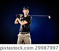 Golfer Golfing Man 29987997