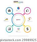 Infographics design template 29989925