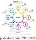 Infographics design template 29989929